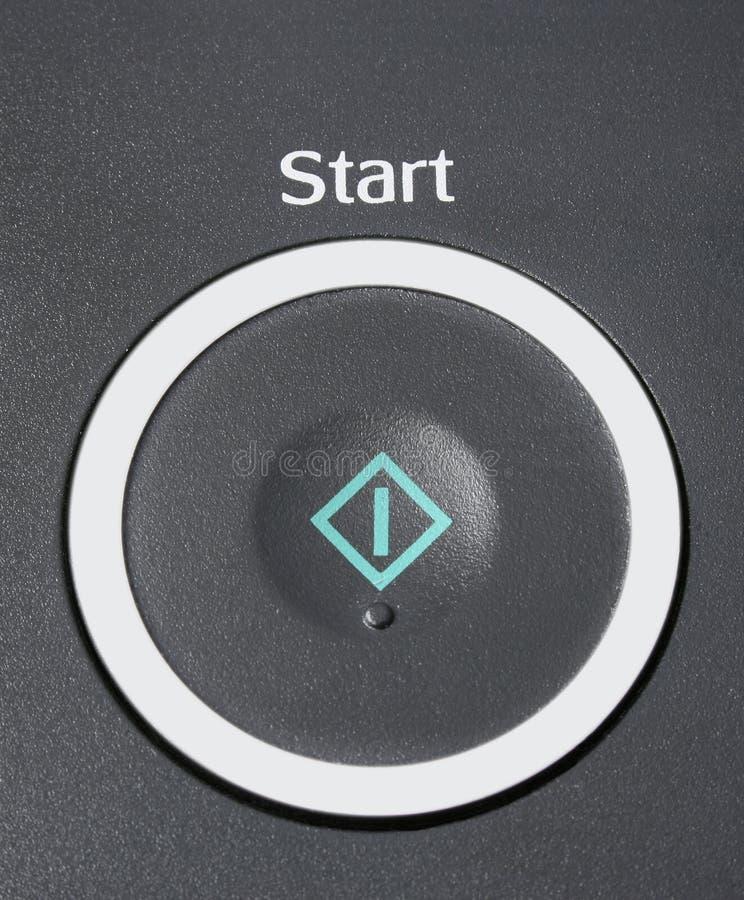 старт кнопки реалистический стоковое изображение rf