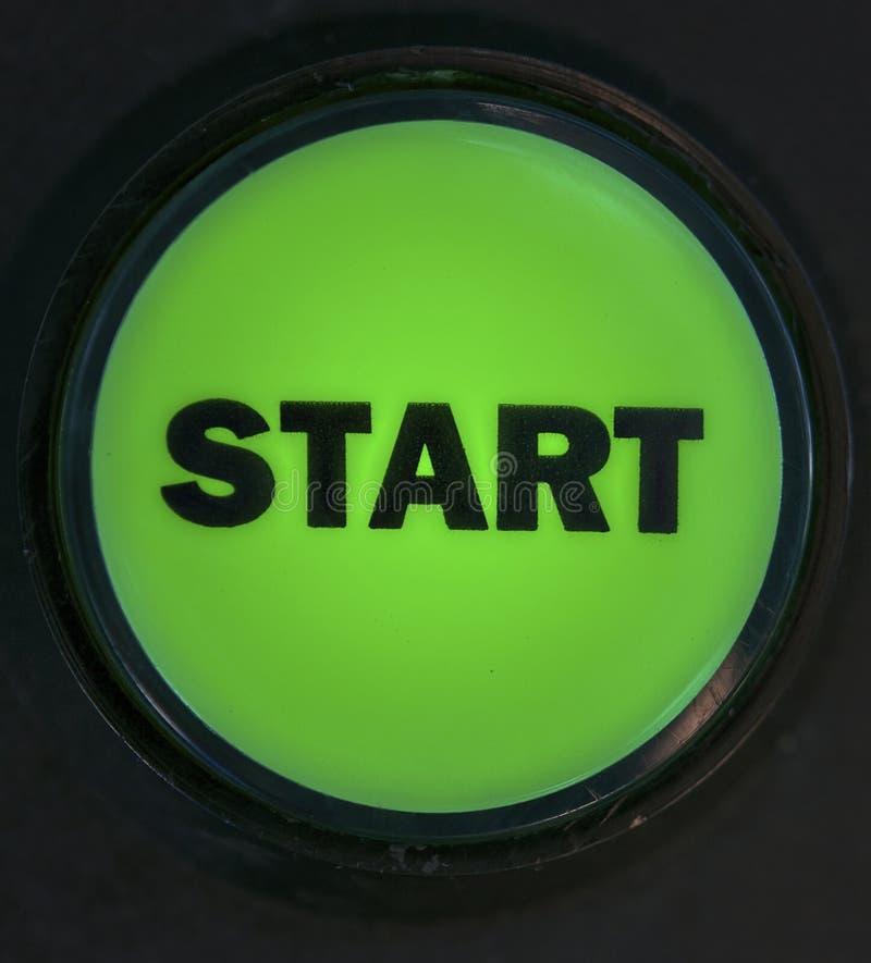 старт кнопки стоковая фотография rf