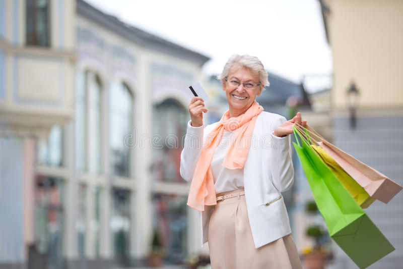 старшая женщина стоковая фотография