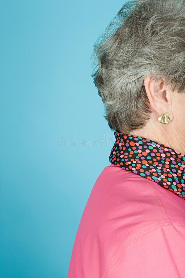 старшая женщина стоковая фотография rf