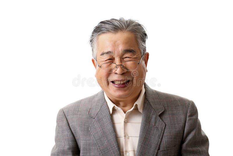 Старший азиат стоковая фотография rf