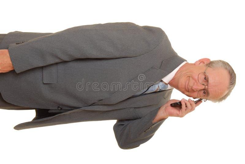 старший бизнесмена стоковая фотография rf