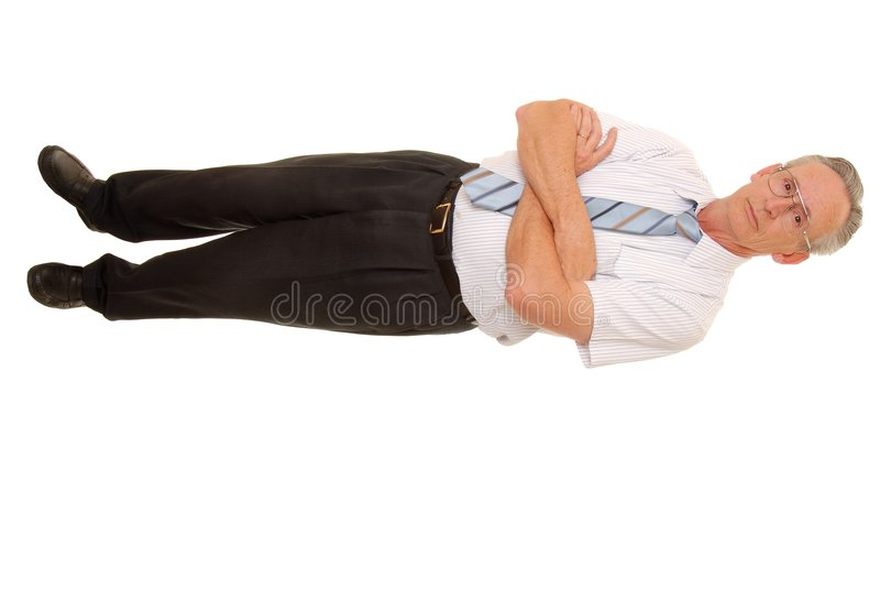 старший бизнесмена стоковые фото