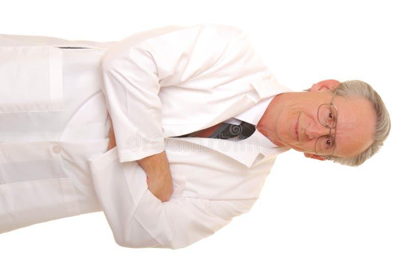 старший доктора стоковые изображения