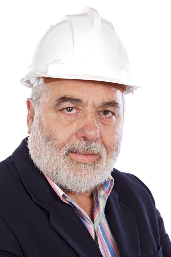 старший инженера стоковые изображения rf