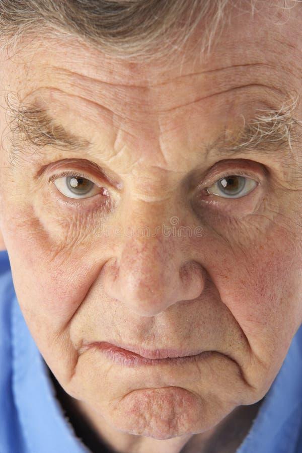 старший портрета человека стоковые фото