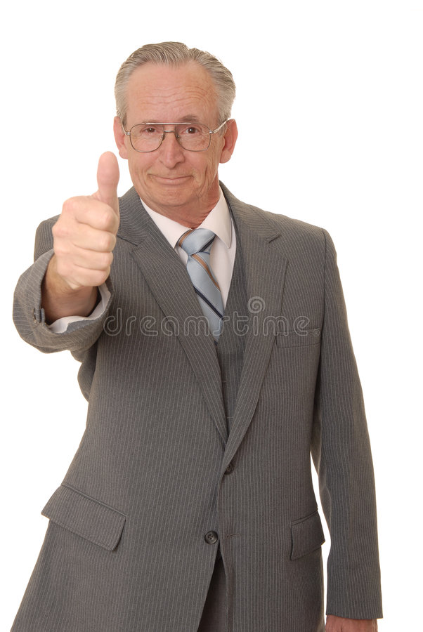старший 39 бизнесменов стоковое фото
