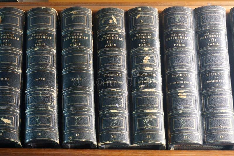 Старые архивы Nationales (национальные архивы) Франции в Париже стоковая фотография rf