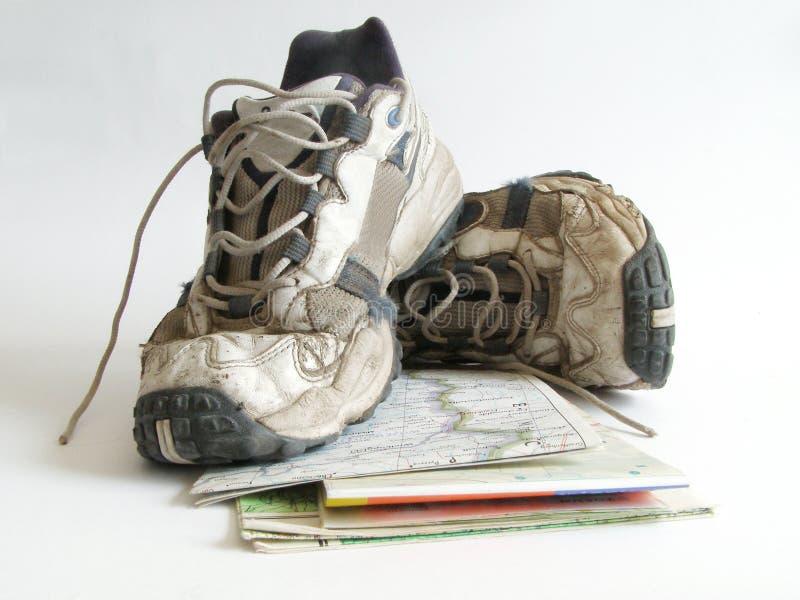 старые ботинки стоковая фотография