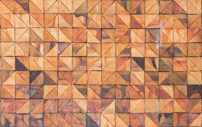 Старые винтажные плитки стены агашка стоковое фото rf