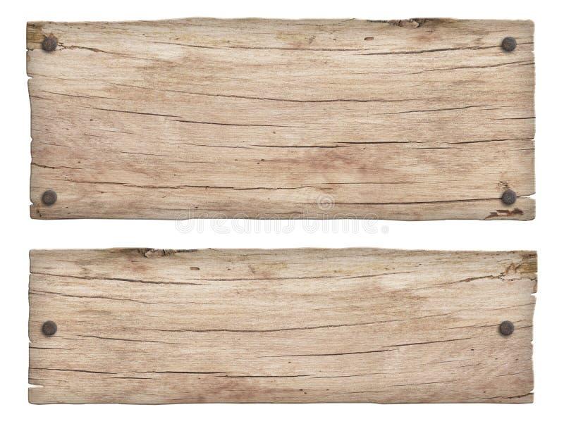 старые выдержанные светлые деревянные знаки стрелки и