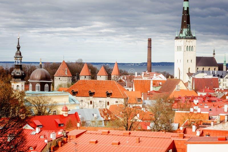 Старые города в Европе стоковое изображение