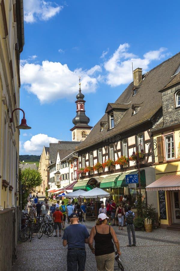 Старые городища в Германии стоковая фотография rf