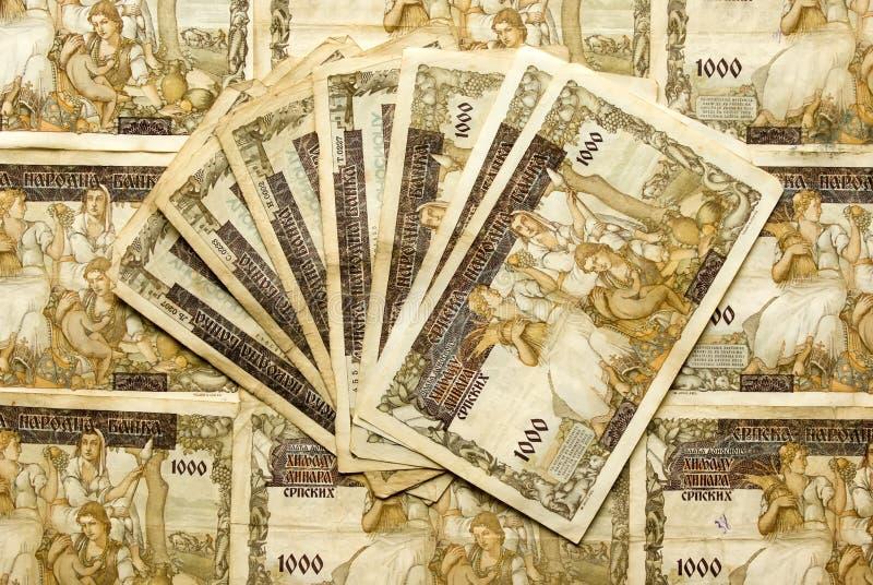 Старые деньги стоковое изображение rf