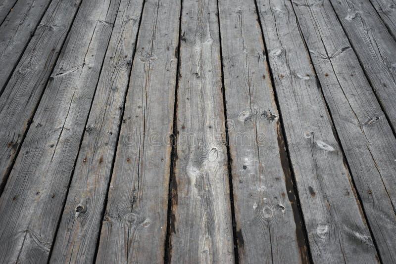 Старые деревянные планки как предпосылка или текстура стоковая фотография rf