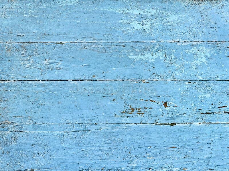 Старые деревянные доски покрашенные в голубом цвете как предпосылка стоковое изображение