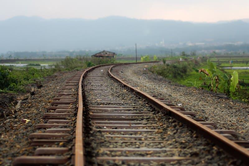 Старые железные дороги стоковые изображения rf