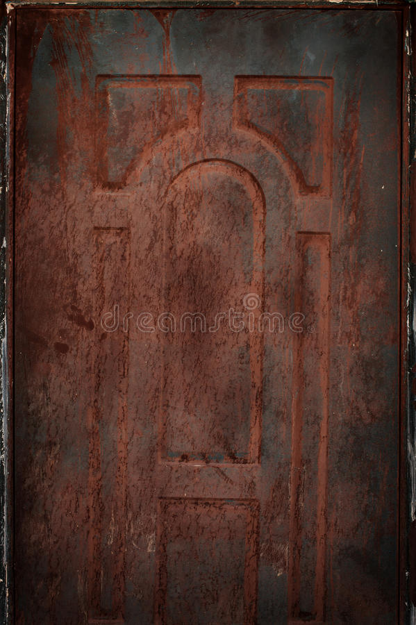 Старые заржаветые предпосылка и текстура олова стоковые изображения rf
