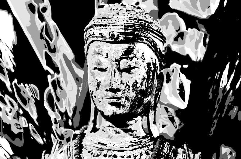 Старые индусские божества, старые традиции и восточные убеждения стоковое фото
