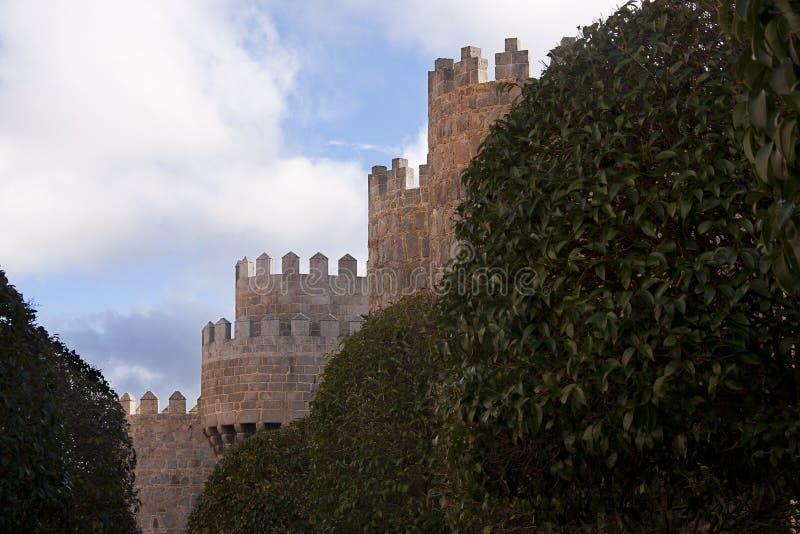 старые каменные стены стоковые фото