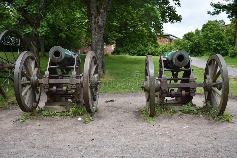 Старые карамболи показанные в парке стоковые изображения