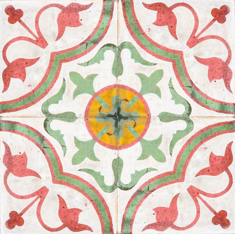 Старые керамические плитки. стоковые фотографии rf