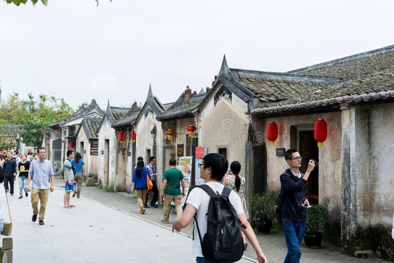 Старые китайские здания Hakka стоковое изображение rf