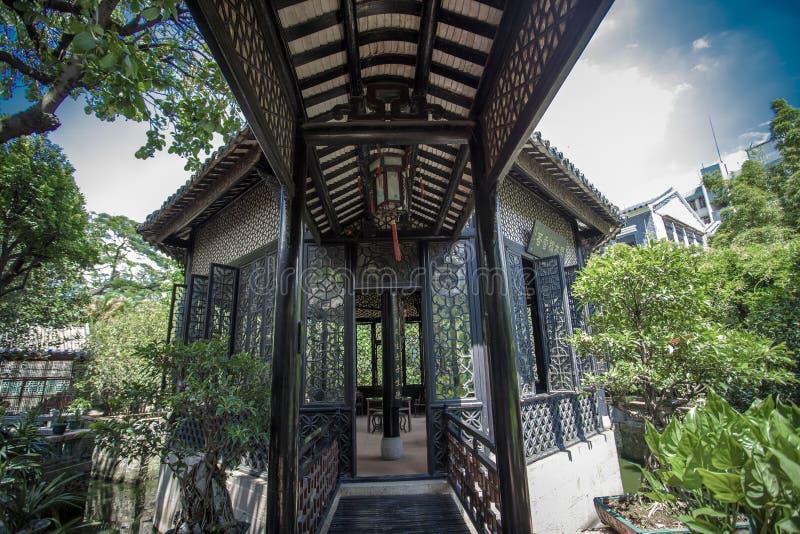 Старые китайские квартиры сада стоковые изображения
