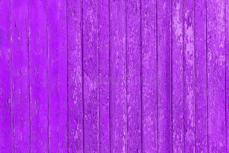 Старые, который слезли деревянные планки с треснутой краской цвета, панели предпосылки старые стоковые изображения rf
