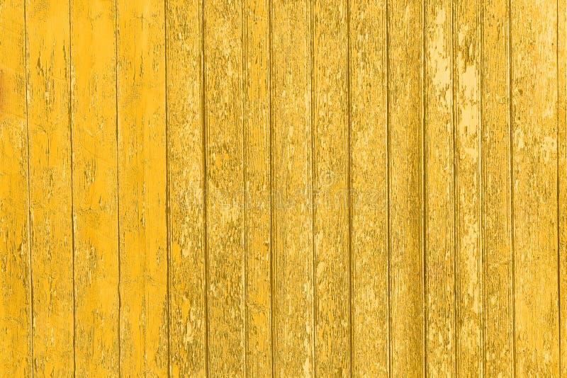 Старые, который слезли деревянные планки с треснутой краской цвета, панели предпосылки старые стоковые фотографии rf