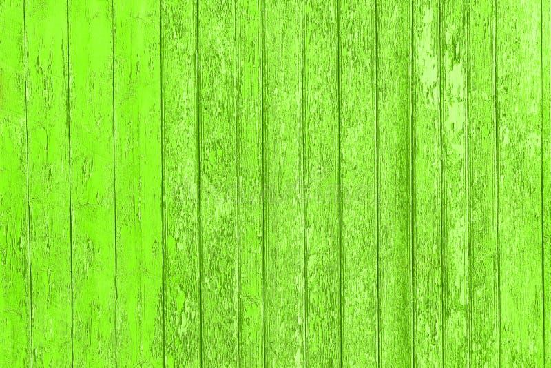 Старые, который слезли деревянные планки с треснутой краской цвета, панели предпосылки старые стоковое изображение rf