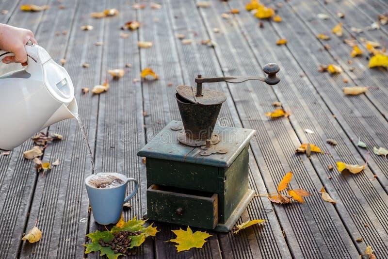 Старые мельницы кофе стоковое фото