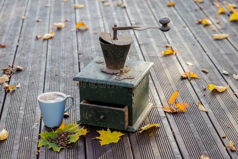 Старые мельницы кофе стоковое фото rf