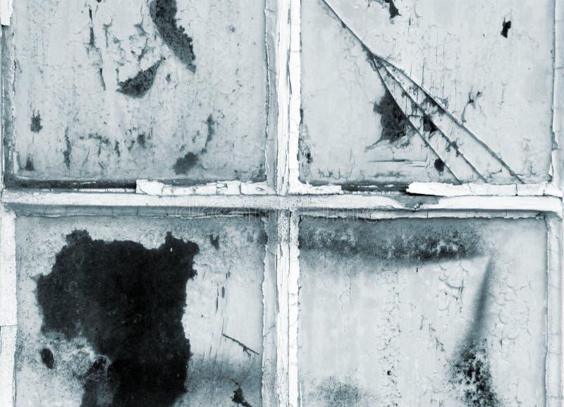 Старые окна двери стоковое изображение rf