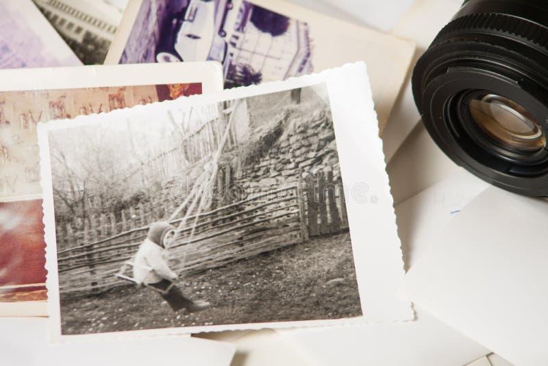 Старые памяти фотографии стоковая фотография