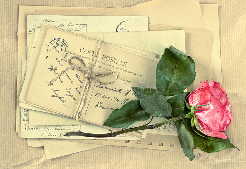 Старинные открытки письмо