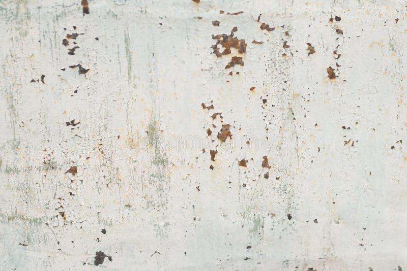 Старые предпосылка и текстура ржавчины утюга металла стоковое изображение