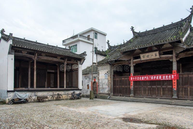 Старые родовые зала и этап стоковые фото