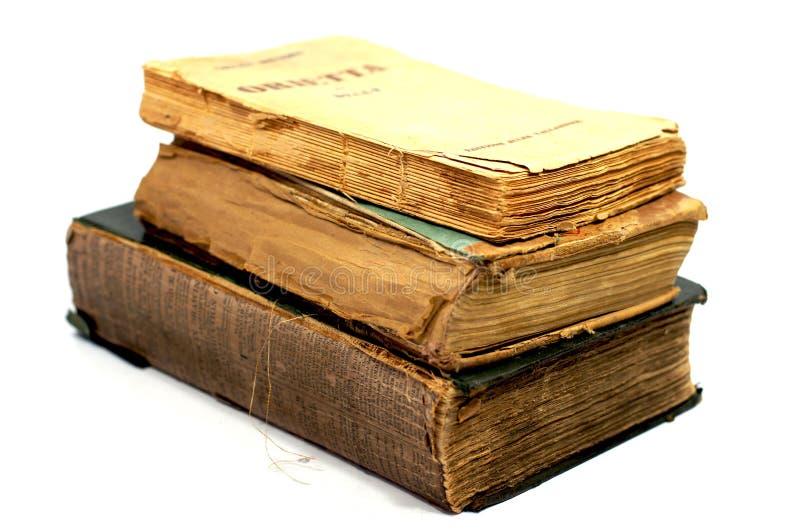 Старые старые книги стоковая фотография rf