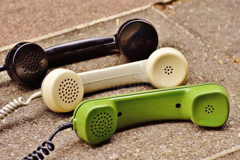 Старые телефонные приемники
