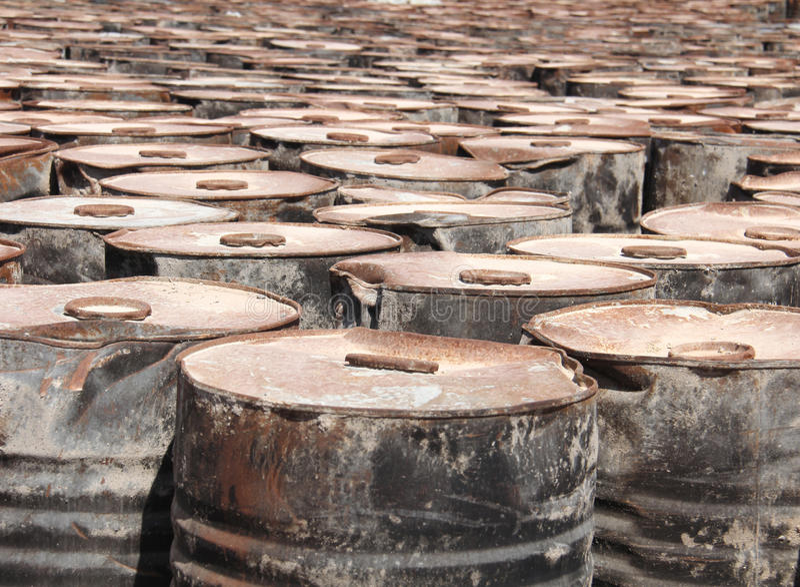 Старые топливные баки стоковое фото rf