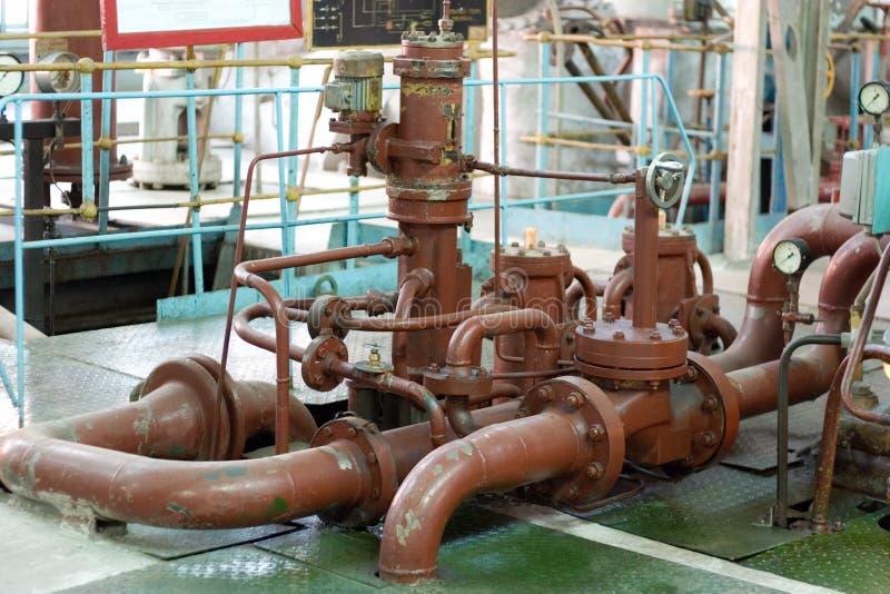 старые трубы ржавые стоковое фото rf