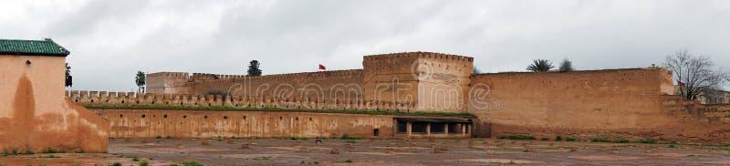 Старые тюрьма и стена стоковые фотографии rf