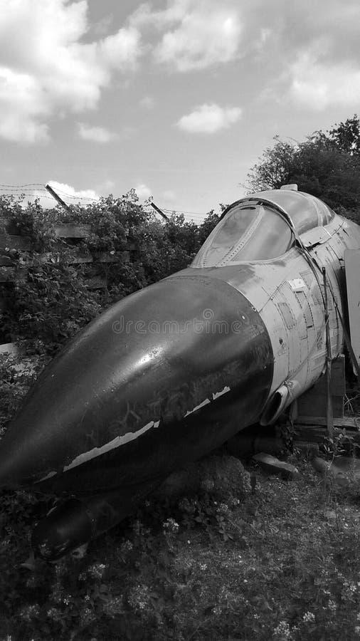 Старые фантомные воздушные судн стоковое изображение rf