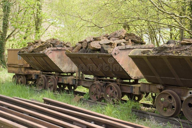 старые фуры поезда стоковое фото rf