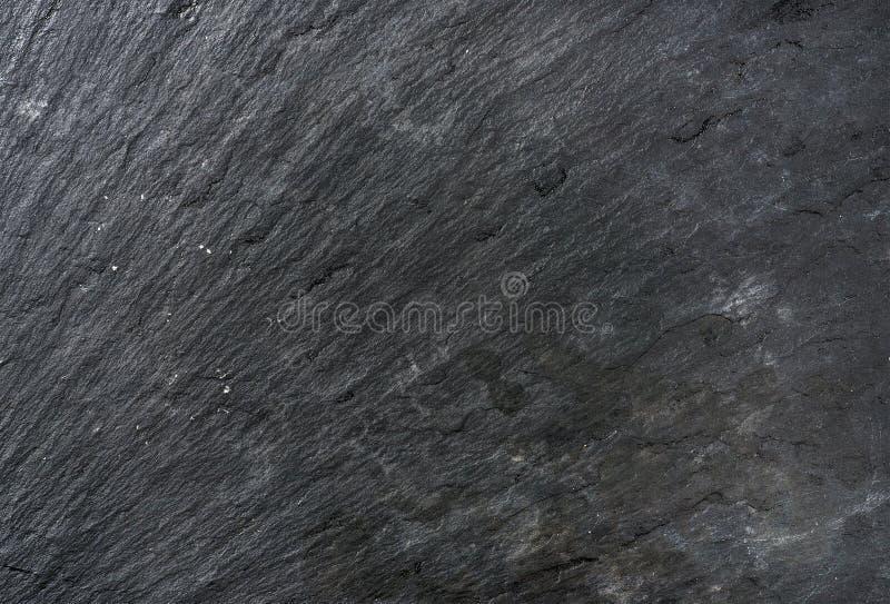 Старые черные текстура, предпосылка или обои камня шифера стоковые фотографии rf