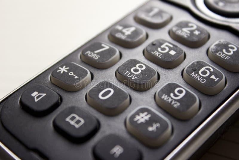 Старые числа телефона стоковая фотография rf