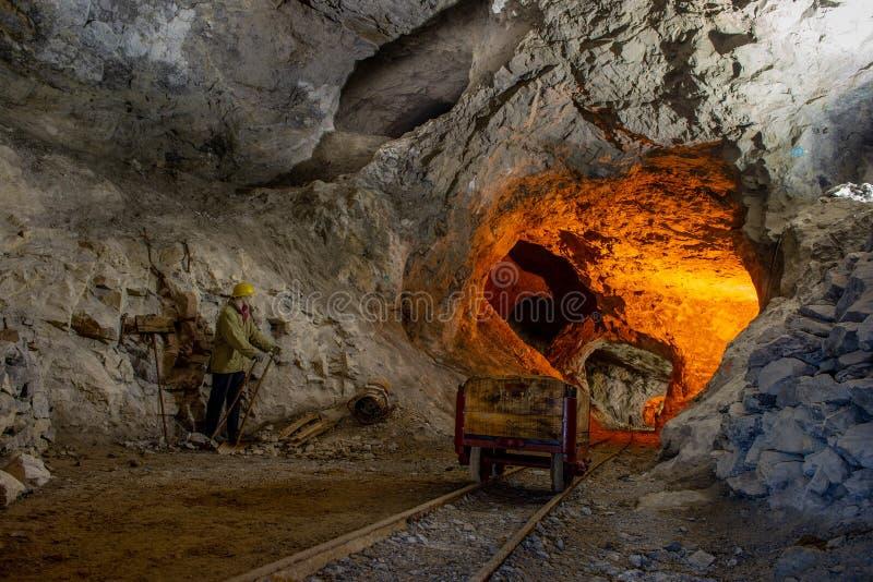 Старые шахты стоковое фото