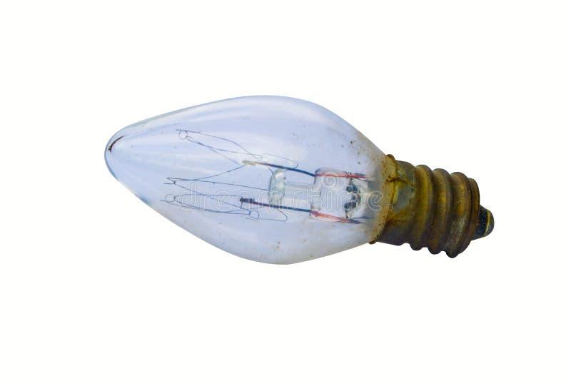 Старые электрические лампочки стоковое изображение