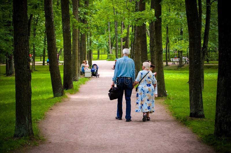 Старые люди стоковое фото rf